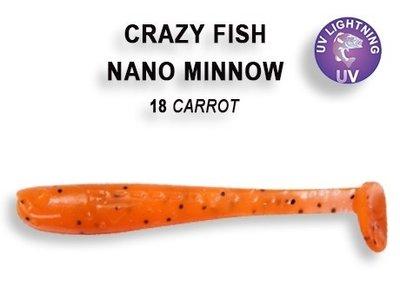 Nano Minnow 40mm Carrot | Shrimp
