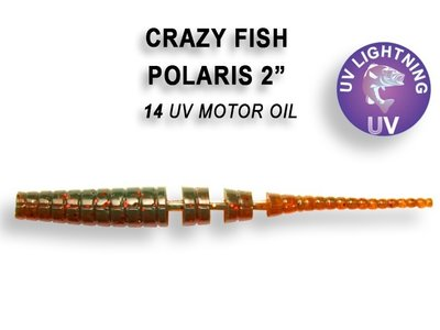 Crazy Fish Polaris Uv Motor Oil Squid Fishing