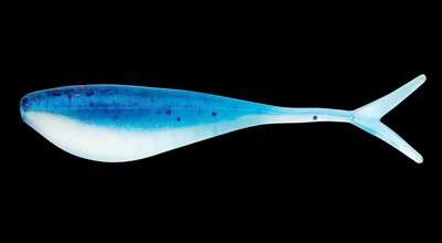 """Lunker City Fin-S Shad 1,75"""" Ballzy Blue"""