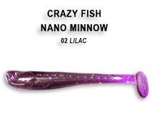 Nano Minnow 40mm Lilac | Shrimp