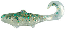 """Relax Banjo 1"""" Clear green and gold glitter 